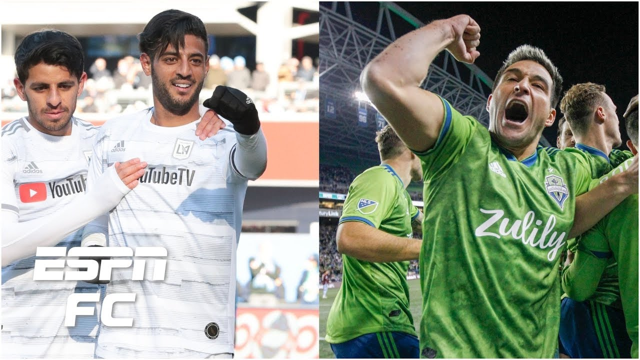 Carlos Vela's LAFC & Seattle Sounders fight for top spot in MLS Power  Rankings | Major League Soccer