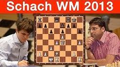 Schach-WM 2013 Magnus Carlsen - Viswanathan Anand: Runde 1 und 2