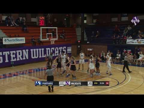 Women's Basketball - Eastern Illinois Highlights (12/22/17)