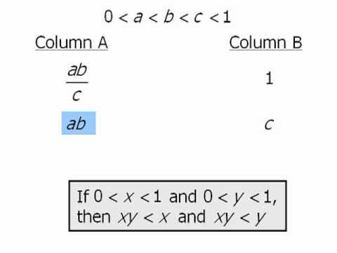 GRE Math Practice: Algebra - Example 1 - YouTube