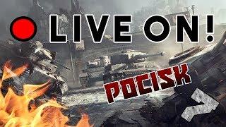 Stream z Pocisk7! #43 - Dążymy do kroku milowego 500 subów ;) - World of Tanks!