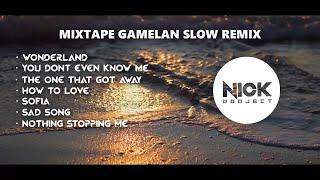 Slow Remix Santuy !!! Full Gamelan Remix | Nick Project