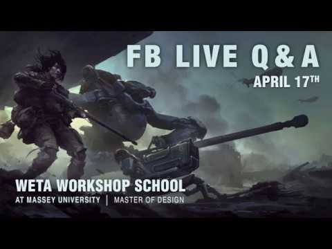 Weta Workshop School at Massey University Q&A session 1 | Massey University