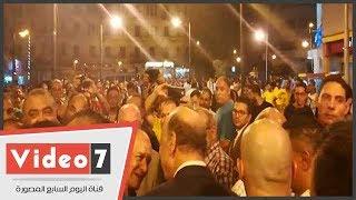وزير الثقافة ومحافظ القاهرة يفتتحان شارع الألفى بعد تطويره