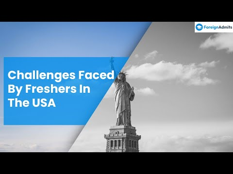 Challenge for Newbies in USA