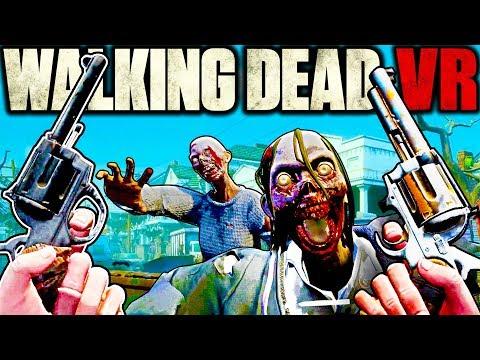 Walking Dead VR has the Best Zombie Kills We've Ever Seen!