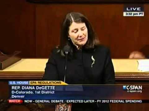 DeGette Speaks on Floor Against GOP Assault on the Clean Air Act