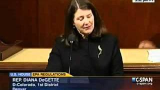 DeGette Speaks on Floor Against GOP Assault on the Clean Air Act