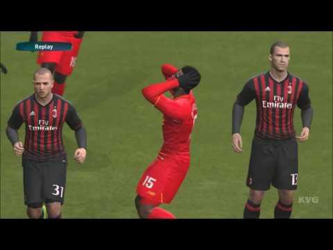 PES 2017 - Liverpool FC vs AC Milan - Gameplay [PC HD]