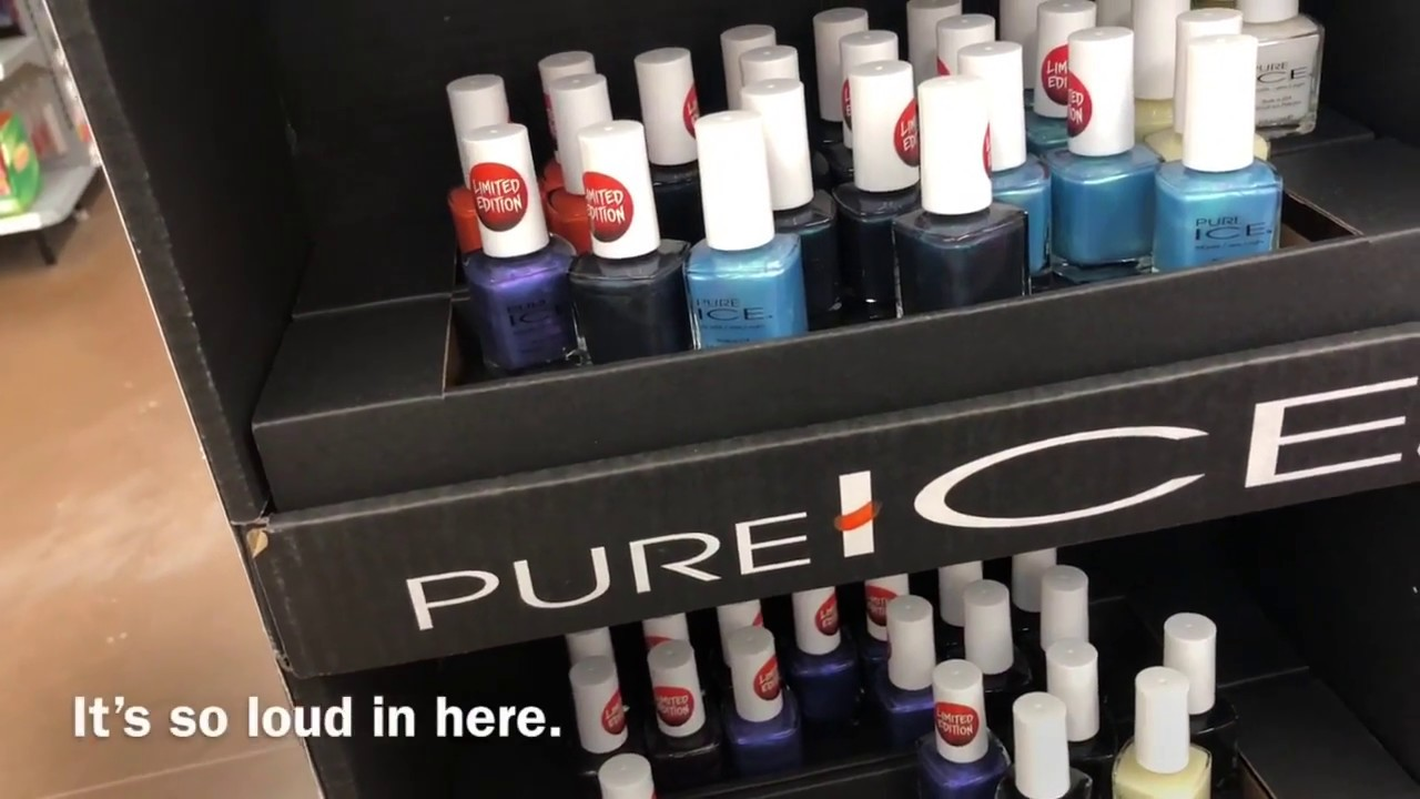 Random Walmart Haul -Pure Ice L. A. Colors Halloween Nail ...