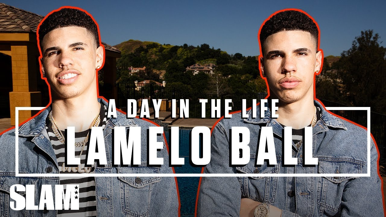 LaMelo Ball Is Paving His Own Wave ???? LEAGUE HIM | SLAM Day in the Life