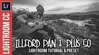 Erstellen Sie eine Illford Pan F Plus 50 Foto-Stil