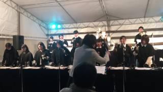 折尾愛真短期大学 OB&学生 クリスマス演奏@小倉井筒屋 2016.12.25.