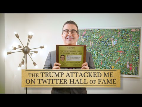 Download Youtube: John Oliver Joins The 'Trump Attacked Me On Twitter' Hall Of Fame