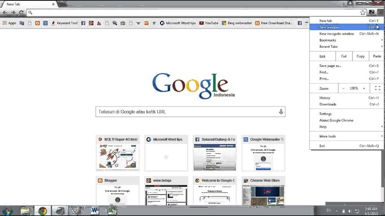 Cara Menghapus History Di Google Chrome Youtube