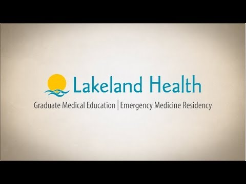 Lakeland Health Emergency Medicine Residency2017