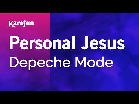 Karaoke Personal Jesus  Depeche Mode *