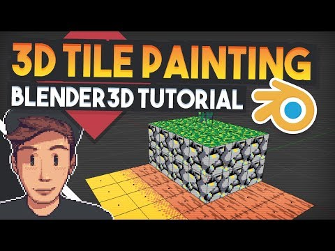 Tilemap Pixelart in 3D (Basic Sprytile Tutorial for blender) [Part 1]