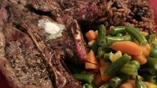 Easy  Skillet  Grilled   Lamb  Chops