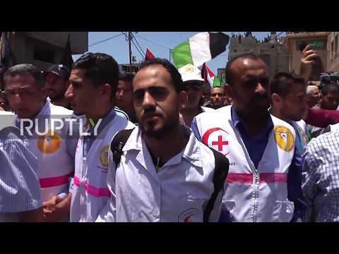Razan Najjar Medis yang di tembak mati oleh  militer Israel
