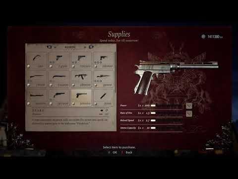 Resident Evil Village (Infinite Ammo Unlock Exploit) ~tips And Hints