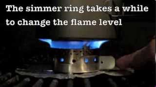 The Lukasz Simmer Ring for your ISO-Clean Isopropyl Alcohol Stove by FLAT CAT GEAR Thumbnail