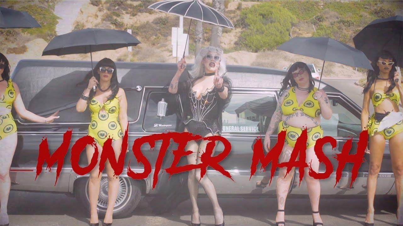 Sharon Needles - Monster Mash (Official Music Video)