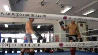 Allenamento in thailandia (Luglio 2010)