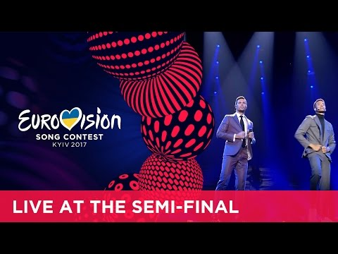 Robin Bengtsson - I Can't Go On (Sweden) LIVE at the first Semi-Final