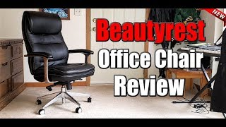 gaming and office chair review the beautyrest black executive chair