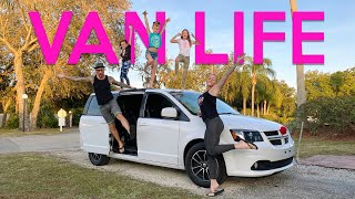 CROSS COUNTRY ROAD TRIP / VAN LIFE (Somewhat) Family Travel 2021