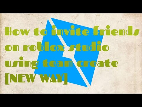 Roblox Studio | How To Invite Friends On Roblox Studio Using Team Create [New Way!]