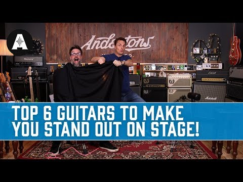 Top 6 Guitars to Make you Stand Out on Stage!