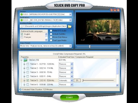 1Click DVD Copy Pro - Copy DVD Movies - How To Copy DVDs