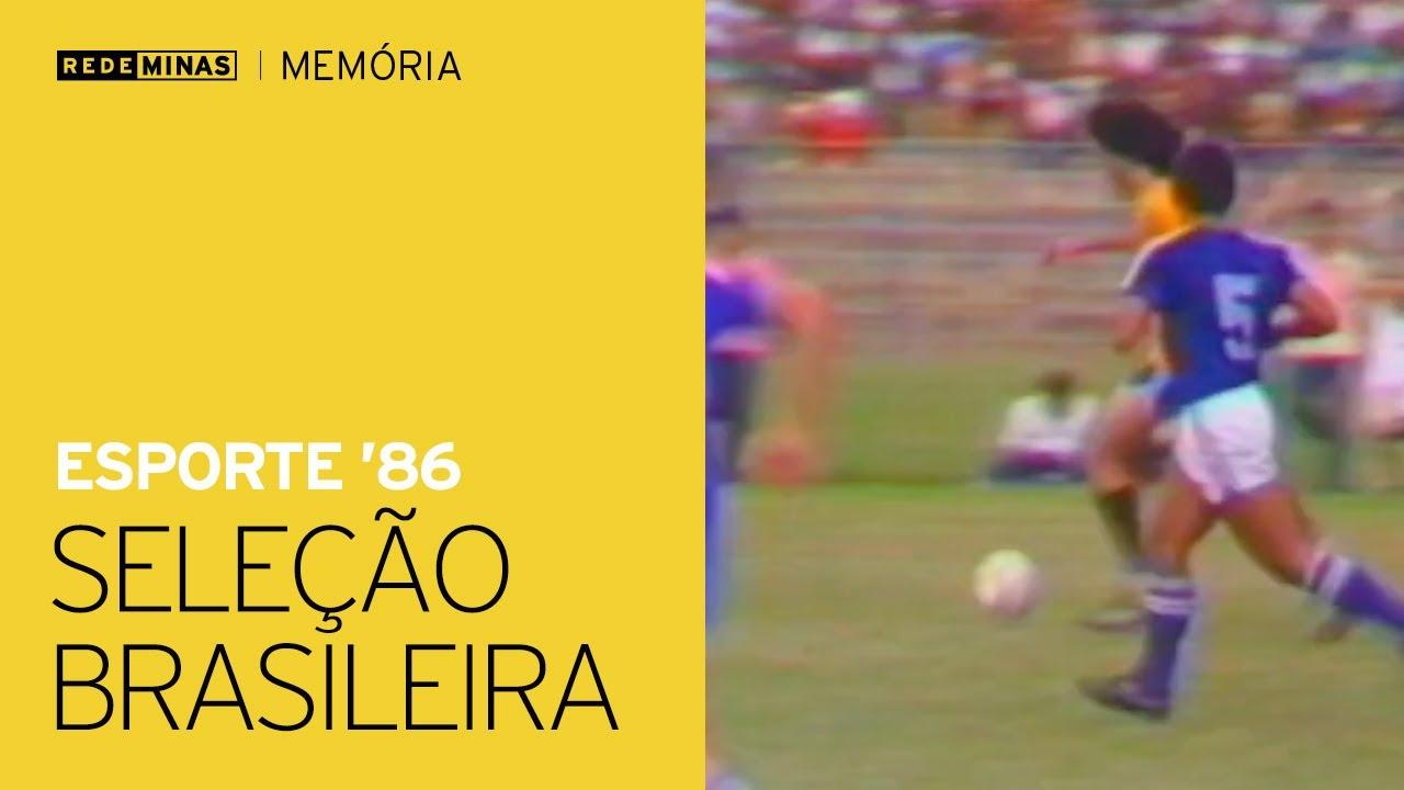 Seleção Brasileira na Toca da Raposa - Esporte (1986) [Rede Minas Memória]