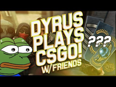 DYRUS | CUSTOM CSGO LOBBIES  - FT. SUREFOUR, TWOMAD & MORE!