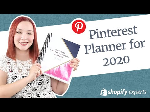 2020 Pinterest Planner (Pinterest Marketing Tips) thumbnail