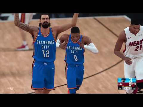 NBA Today Miami Heat vs Oklahoma City Thunder Full Game NBA Highlights NBA 2K18