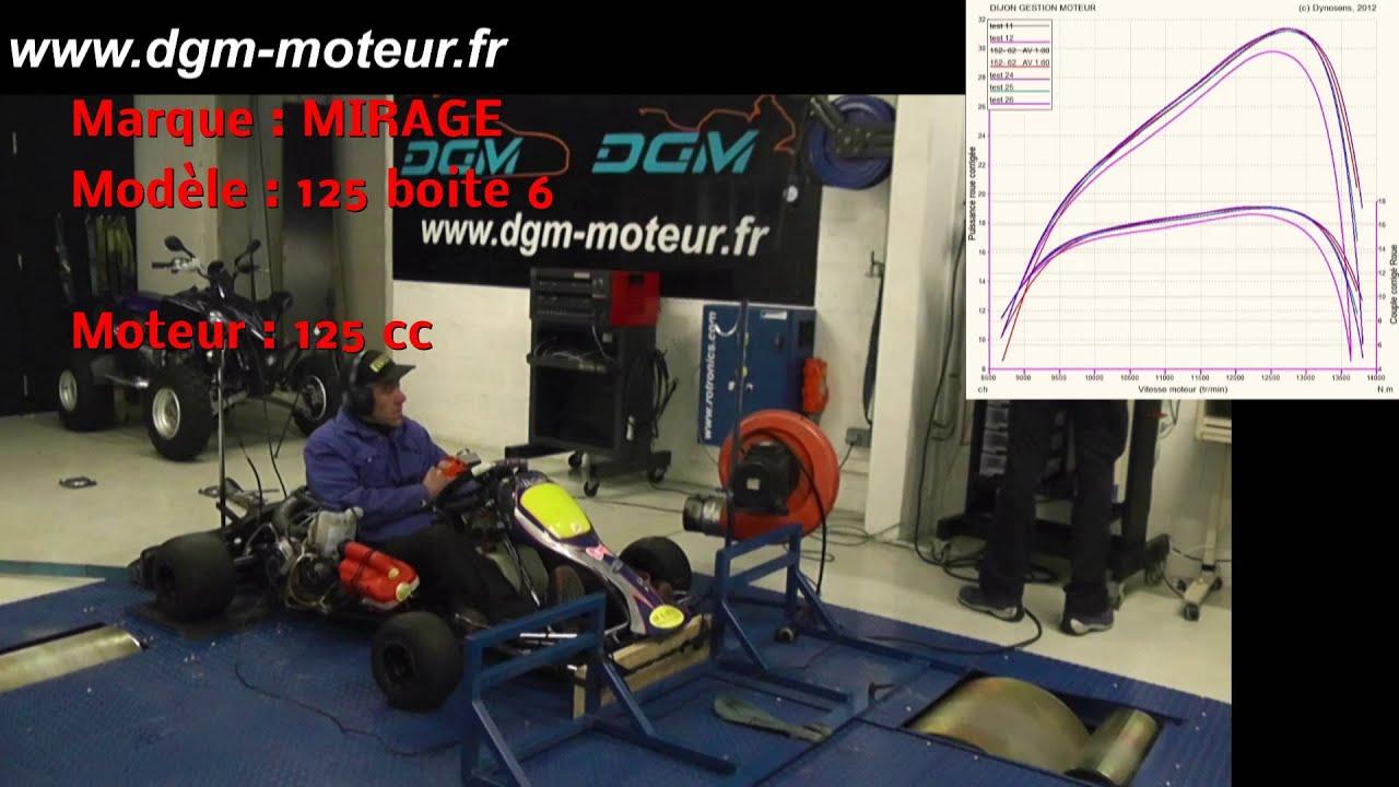 KARTING CRG Amp MIRAGE 125cc Boite 6 Dijon Gestion Moteur