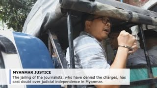Myanmar's top court turns down appeal by Reuters journalists