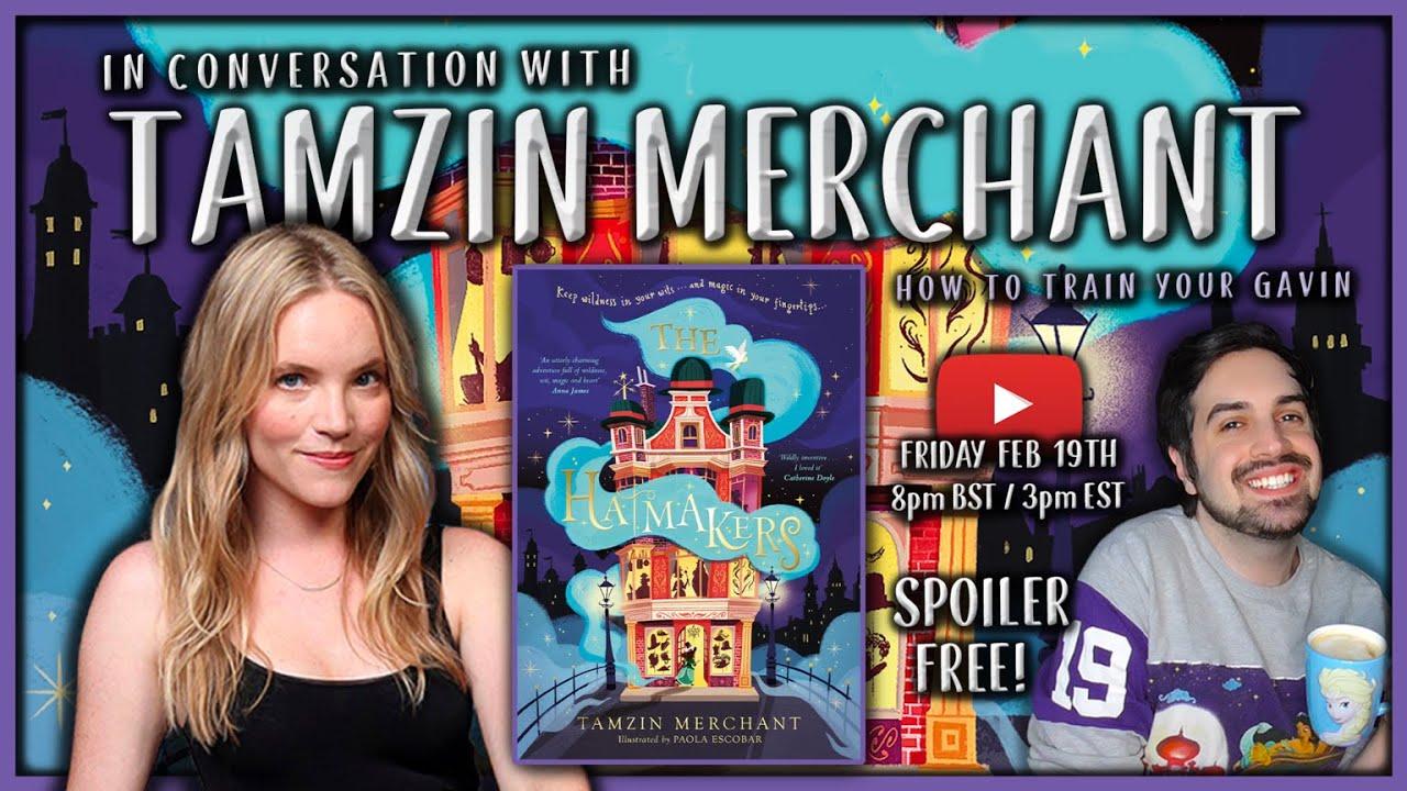 In Conversation With Tamzin Merchant 🎩 The Hatmakers Interview