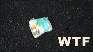 Hot Sexy New Trend: Throwing Dirty Diapers Out On The Parking Lot