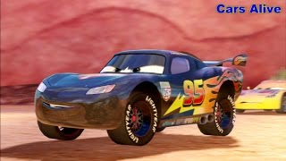 Cars 2 Game Play - Carbon Fiber Lightning McQueen squad serie