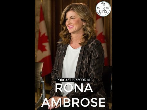 The Fit Bottomed Girls Podcast: Ep 40 Rona Ambrose