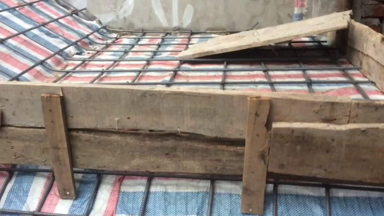 Kết cấu sắt dầm sàn nhà rộng 6 m