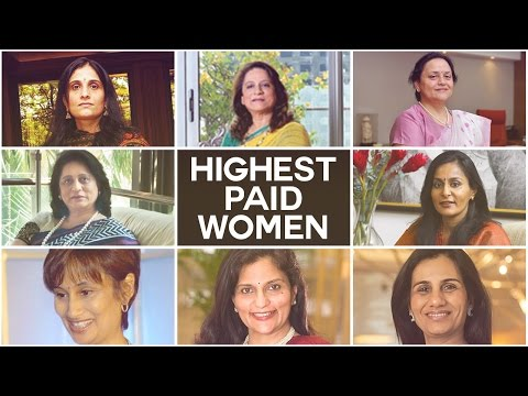 Top Highest Paid Women in India [Business Executives 2016]