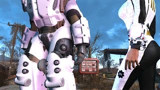 FALLOUT 4 MAX X-01 Mk 6 END GAME BEST POWER ARMOR Guide High Level Character Build