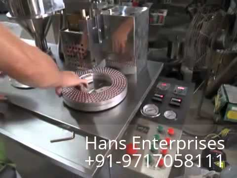 Semi Automatic Capsule filling machine from YouTube · Duration:  2 minutes 19 seconds  · 4.000+ views · uploaded on 8-1-2014 · uploaded by Hans Enterprisez Kapil Oberoi