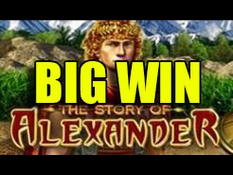 de online slots story of alexander