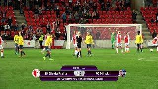 UWCL: Slavia - Minsk 4:3 (1:2)